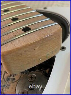1974 Fender Stratocaster Black with Maple Neck