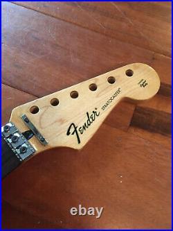 2012 Fender Stratocaster Strat Floyd Rose Nut Neck Rosewood Plate