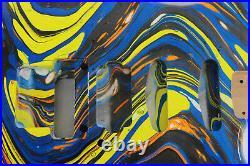 Alder HSS guitar body fits Fender Strat Stratocaster neck Floyd Rose J147
