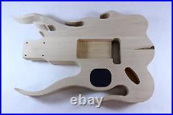 Basswood Flame Guitar body Fits Fender Strat Stratocaster necks + OFR P126