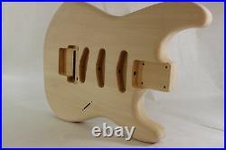 Basswood SSS guitar body fits Fender Strat Stratocaster neck Floyd Rose J053