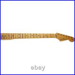 Fender 50's Style Stratocaster Strat Maple Fingerboard Soft V Shape Guitar Neck