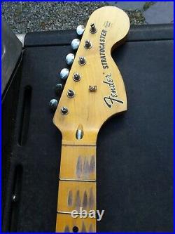 Fender Lic Relic STRAT neck Aged Nitro 70s maple Stratocaster Mr. G's Customs