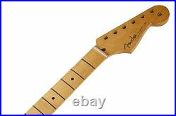 Fender Mexico Stratocaster/Strat Guitar Neck, 50's Vintage Style, Soft V Shape