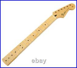 Fender Mexico Stratocaster/Strat Guitar Neck, Modern C, Med Jumbo 21 Frets