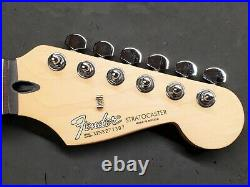 Fender Standard Stratocaster ROSEWOOD NECK + CHROME TUNERS Strat Electric Guitar
