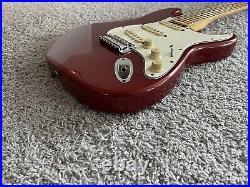 Fender Standard Stratocaster Vintage 1996 MIM Candy Apple Red Maple Neck Guitar