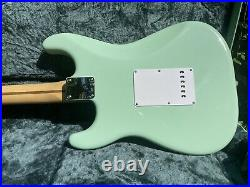Fender Vintera 60s RI Surf Green Stratocaster with American Special Neck and Case