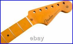 Genuine Fender Classic Series 50s Stratocaster/Strat Lacquer Neck, Soft V, Maple