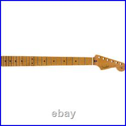 Genuine Fender Roasted Maple Stratocaster Neck 12 Maple Flat Oval 099-0402-920