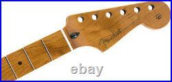 Genuine Fender Roasted Maple Stratocaster Neck, 9.5 Maple, C Shape 099-0502-920