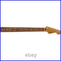 Genuine Fender Roasted Maple Stratocaster Neck 9.5 Pau Ferro C Shape