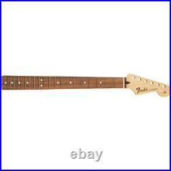 Genuine Fender Standard Series Stratocaster Neck, 21 Frets, Pau Ferro NEW