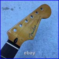 Guitar neck fender Stratocaster 22 frets maple rose wood Used