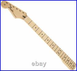 LEFTY Fender Stratocaster Replacement Neck Maple 21 Med Jumbo 099-4622-921