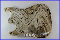 Mocha Swirl Mahogany SSS Strat Stratocaster body Fits Fender neck J172