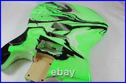 Multicolor Strat Stratocaster body Fits Fender neck P264