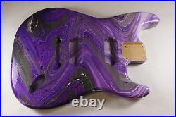 Multicolor Swirl Strat Stratocaster body Fits Fender neck P393