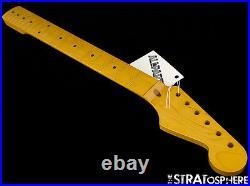 NEW Allparts Fender Licensed for Stratocaster Strat NECK Maple NITRO SMNF
