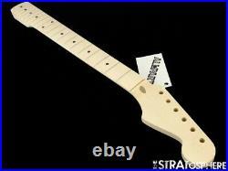 NEW Fender Lic Allparts V Stratocaster NECK Strat Maple Unfinished SMO-V
