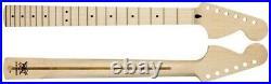 NEW Fender Lic Maple Stratocaster Strat NECK Large 70s Headstock MM2935-M