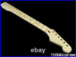NEW Fender Lic WD Stratocaster Strat Replacement NECK AAA Flame Maple Modern 22