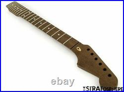 NEW Fender Lic WD Stratocaster Strat Replacement NECK ALL WENGE Modern 22 Fret