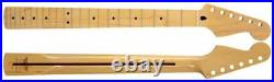 NEW Mighty Mite Fender Licensed Stratocaster Strat NECK Tinted Maple MM2902VT-R