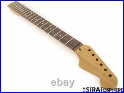NEW WD Fender Licensed for Stratocaster Strat NECK MAHOGANY ROSEWOOD Modern22