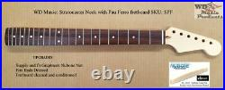 New Fender Licenced WD Music Stratocaster Strat Neck with Pau Ferro Fretboard