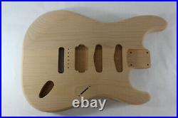 Unfinished Alder HSS Strat Stratocaster body Fits Fender neck J377