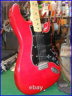 Vintage 1979 Fender USA Stratocaster Hardtail Maple neck Original Case