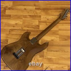 Warmoth Fender Lic. Strat Roasted Neck Body Maple Alder Light Guitar 6.9lbs