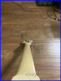 Warmoth Stratocaster Neck Loaded with Fender Staggered Tuners